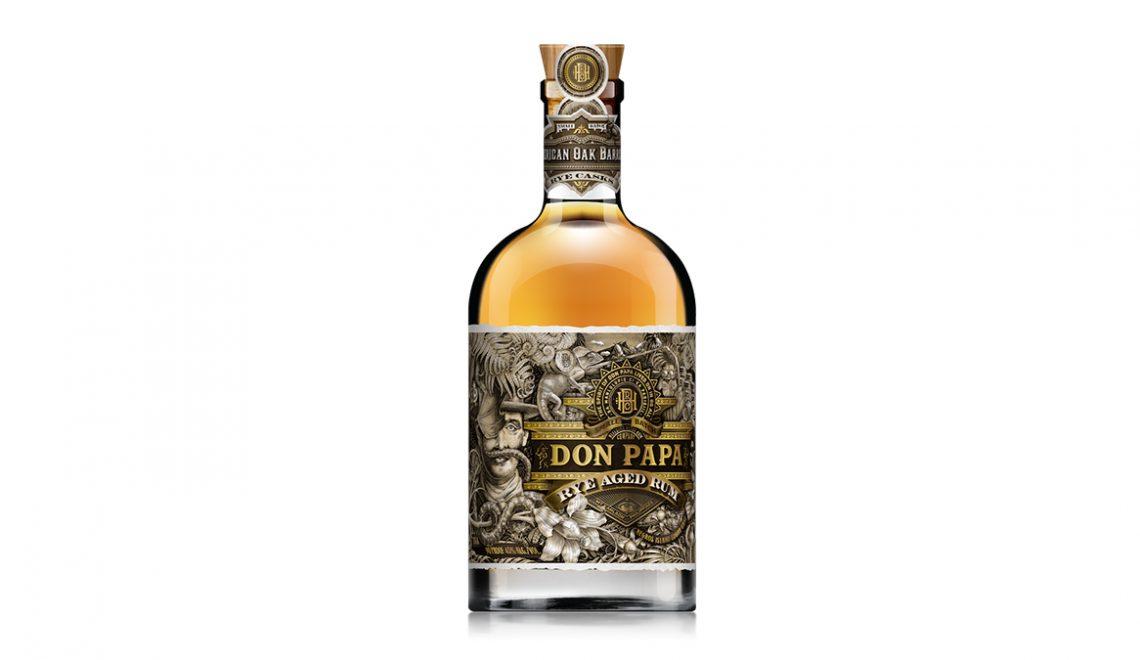 Don Papa Debuts Rye Aged Rum