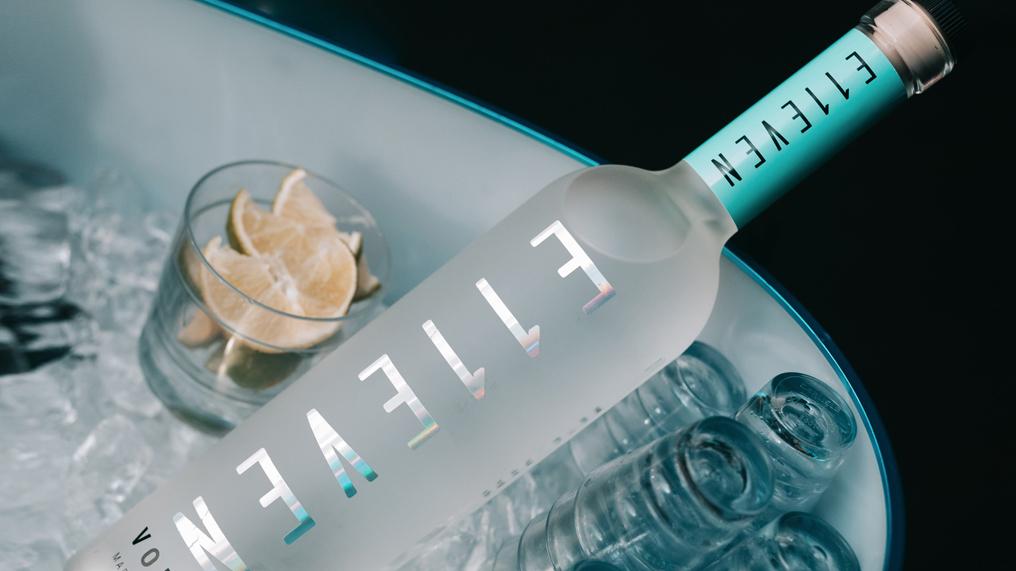 E11even Vodka bucket