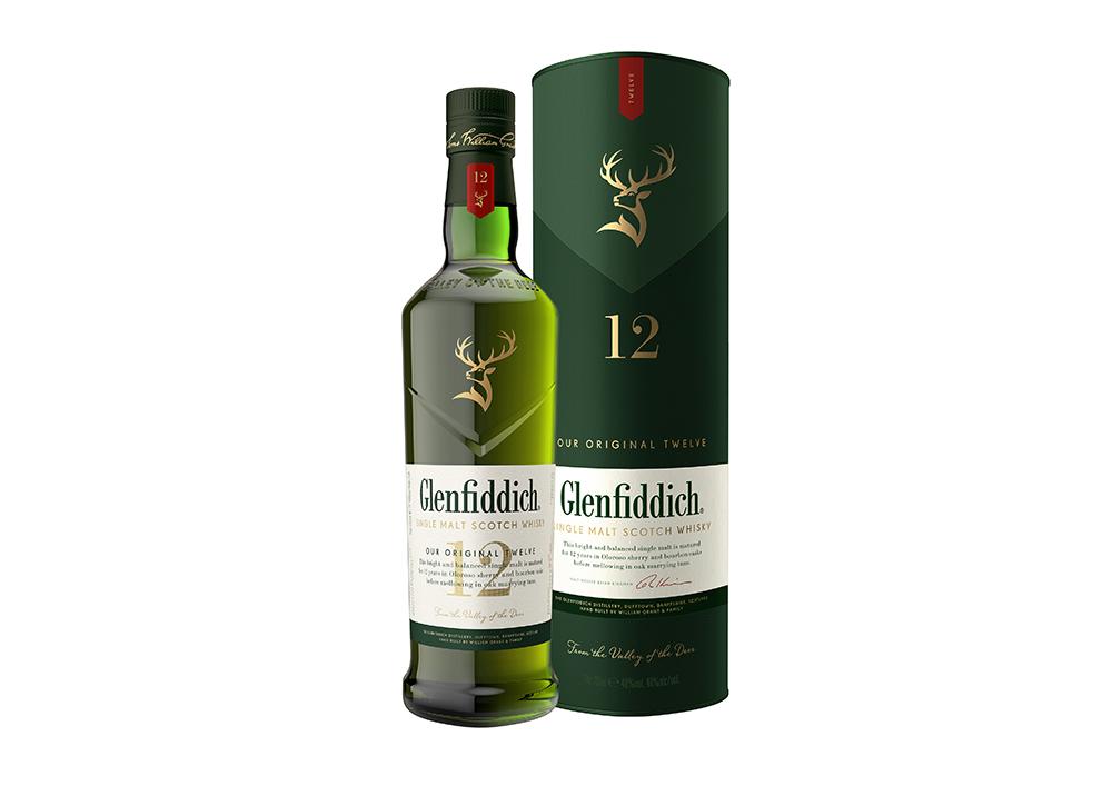 Glenfiddich 12 Year Old Box