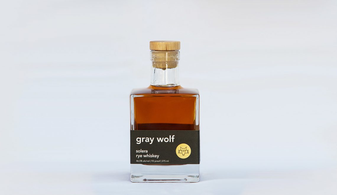 Gray Wolf Debuts Solera Aged Rye Whiskey As Part Of Brand Refresh