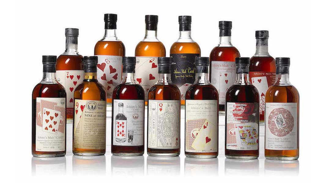 Hanyu Playing cards series reopen distillery japanese Whisky 2021