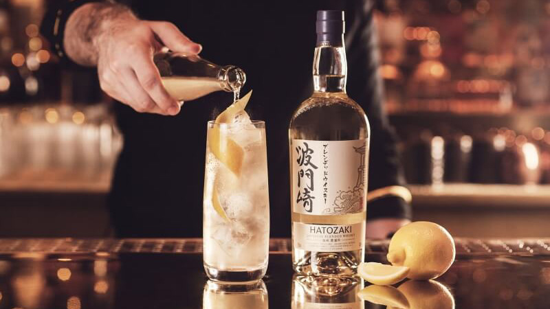 Hatozake Japanese Whisky Highball