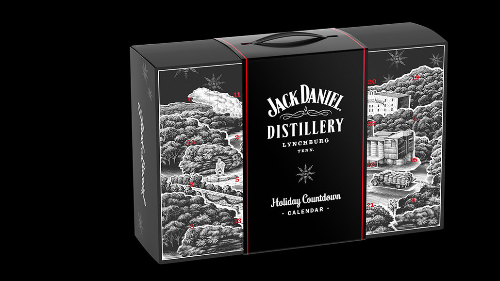 Jack Daniel's 2020 Holiday Countdown Calendar