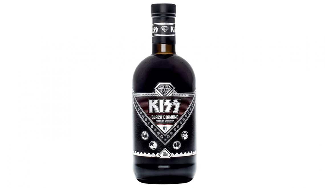 Kiss Drops Black Diamond Rum