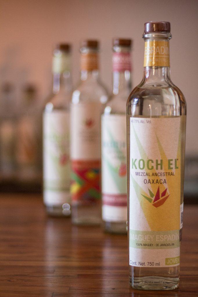 Koch Mezcal bottles - Carlos Moreno