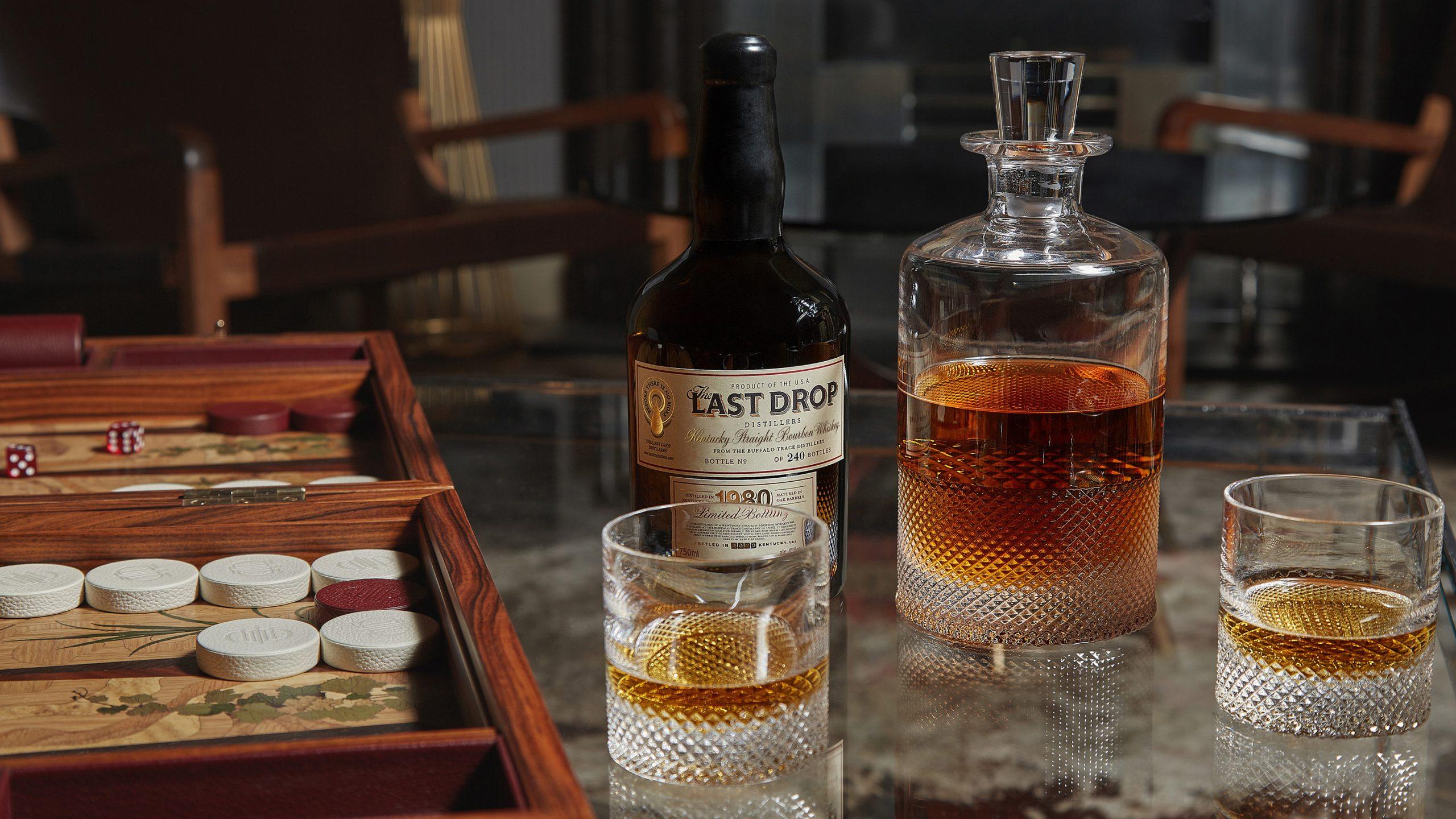 Last Drop Distillers Autumn Collection 1980 Bourbon Lifestyle