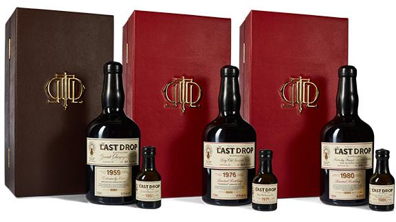 Last Drop Distillers Autumn Collection trio