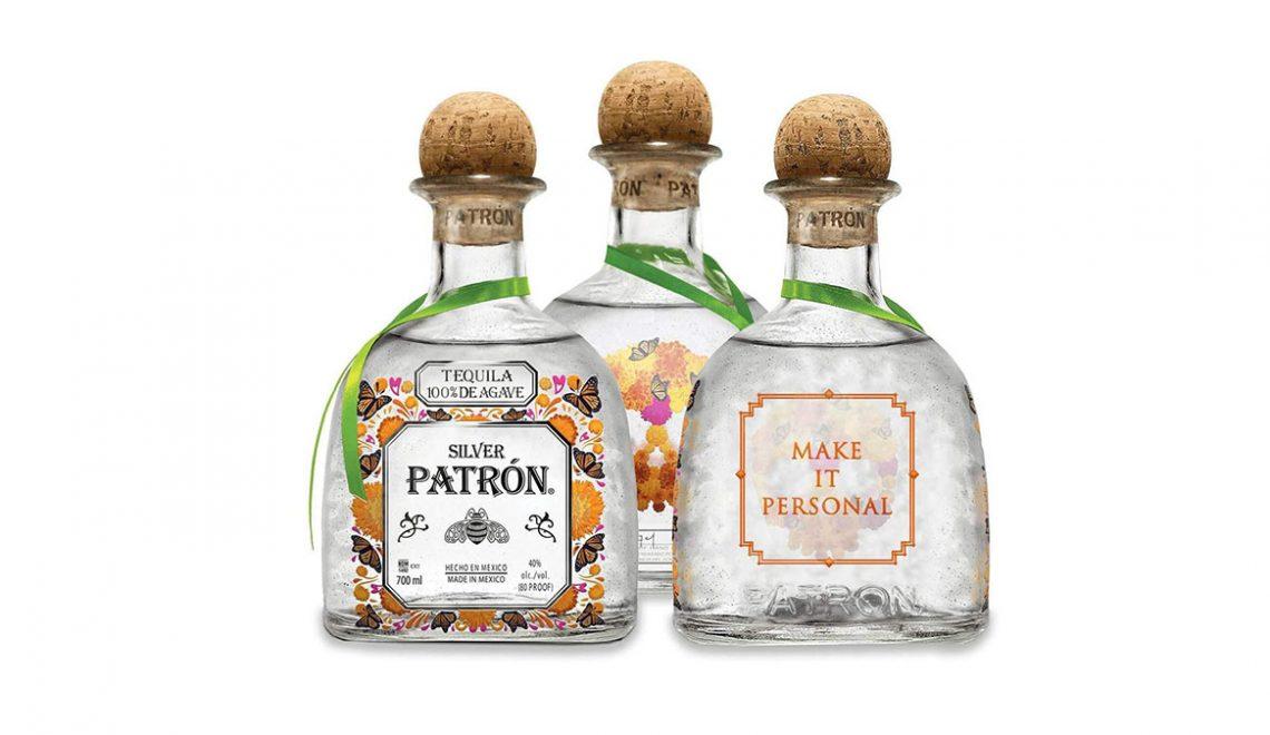 Patron Tequila Day of the Dead Dia De Muertos Bottles