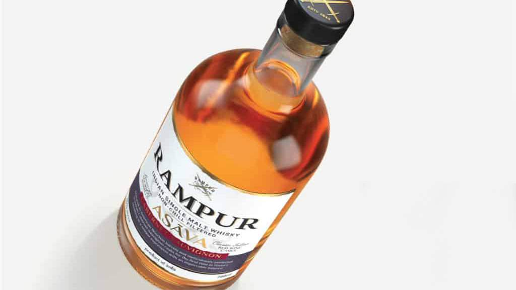 Rampur Asava, The World's First Whisky Finished In Indian Cabernet Sauvignon Casks