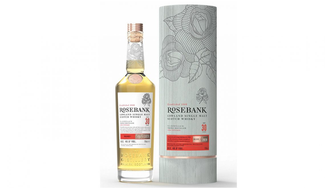 Rosebank Launches 30 Year Old Single Malt, Its First Global Whisky Offering