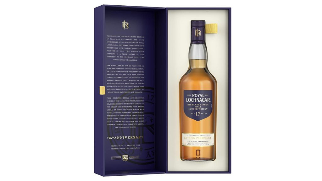 Royal Lochnagar 175th Anniversary 17 Year Old Whisky