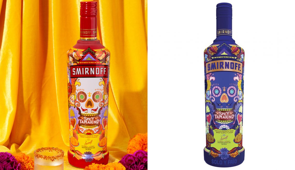 Smirnoff Brings Spicy Tamarind Vodka To Markets Across The United States, Just In Time For Día De Muertos
