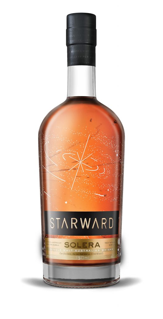 Starward Sollera Breakown Bottle Shot
