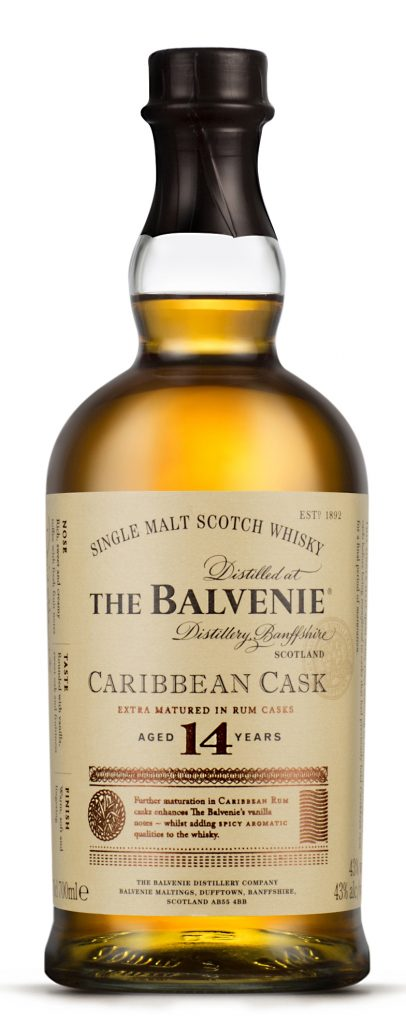 The Balvenie Caribbean Cask 14 Years Old Bottle