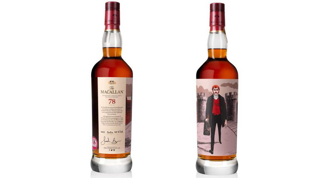 The Macallan 78 Year Old Red Collection