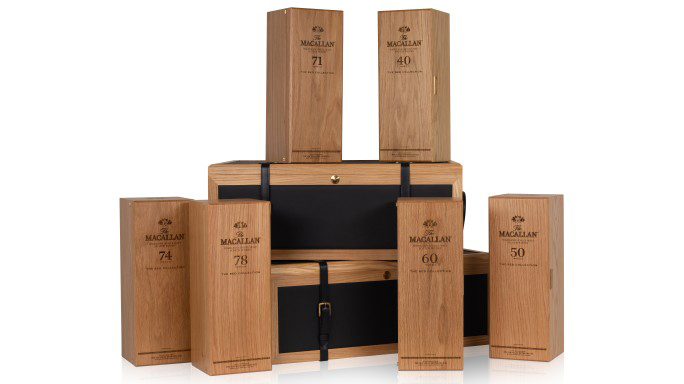 The Macallan The Red Collection Boxes