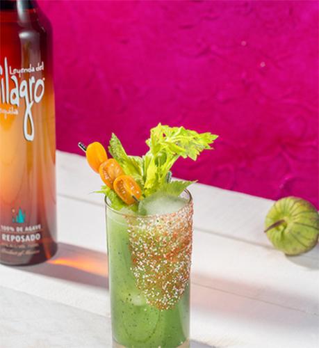 Verge cocktail Dia de los Muertos Cocktails