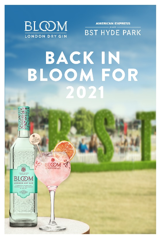 Summer In Bloom Gin Cocktail BST Hyde Park 2021