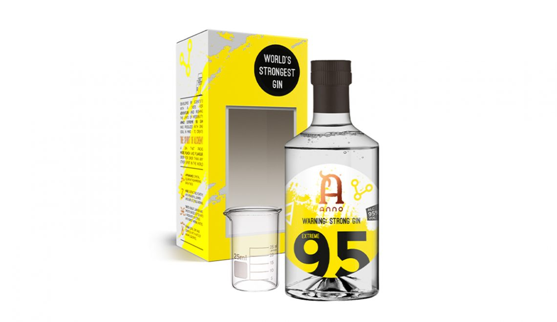 Anon Extreme 95 - World's Strongest Gin