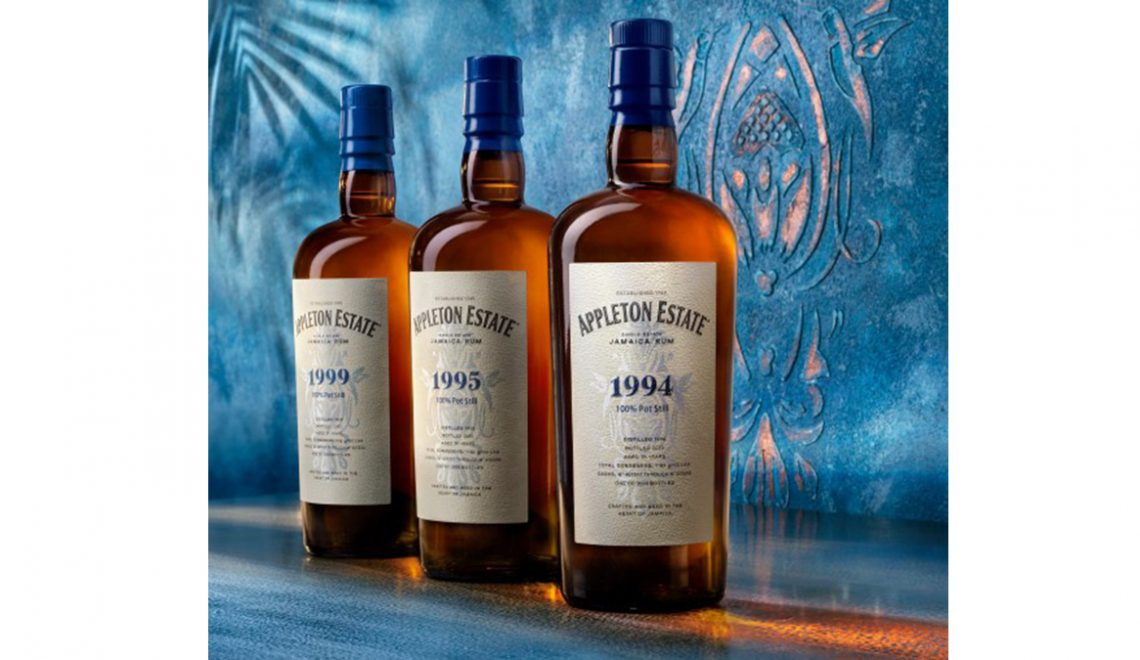 Appleton Estate Debuts Hearts Collection, Made Up Of Rare Pot-Still Rums Aged 21 to 26 Years