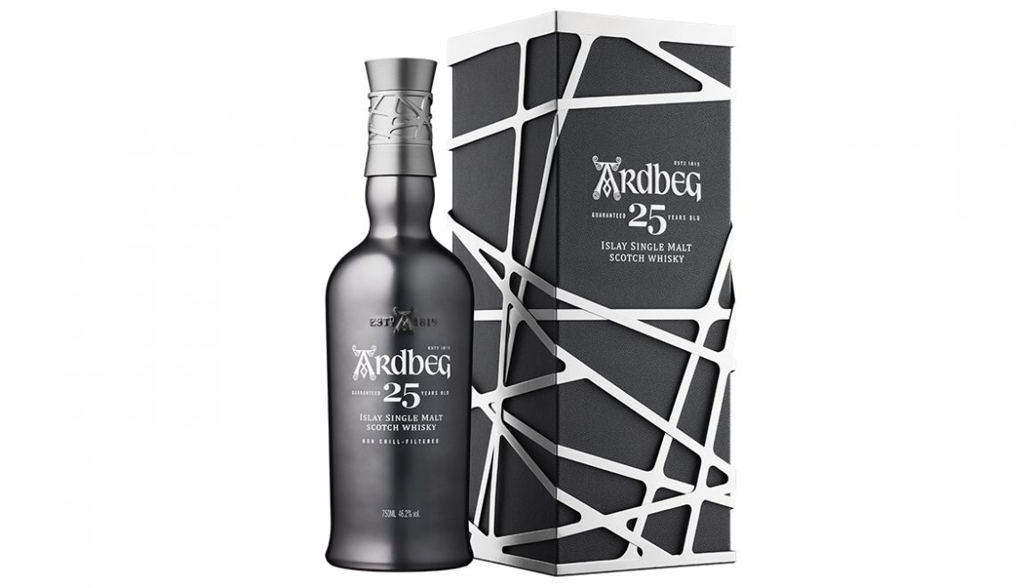 "Ardbeg Adds ""Aged and Caged"" 25 Years Old Whisky To Core Range"
