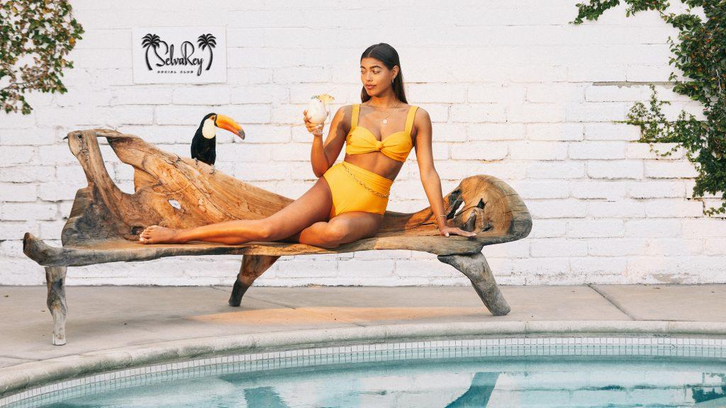 Bruno Mars SelvaRey Rum Ad Woman
