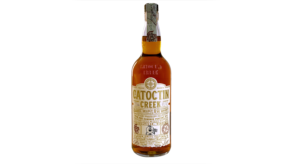 Catoctin Creek Peach Barrel Select Rye Whisky