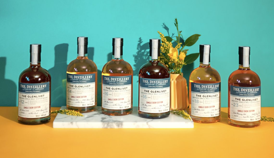 Chivas Brothers 2020 Distillery Reserve Collection - The Glenlivet