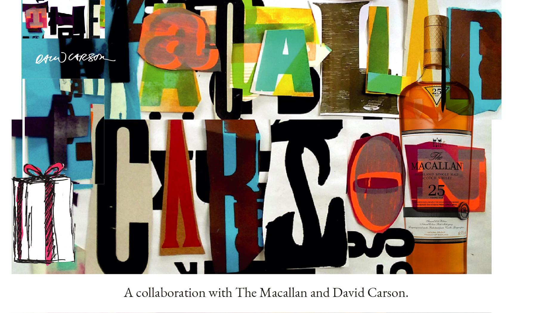 The Macallan and David Carson