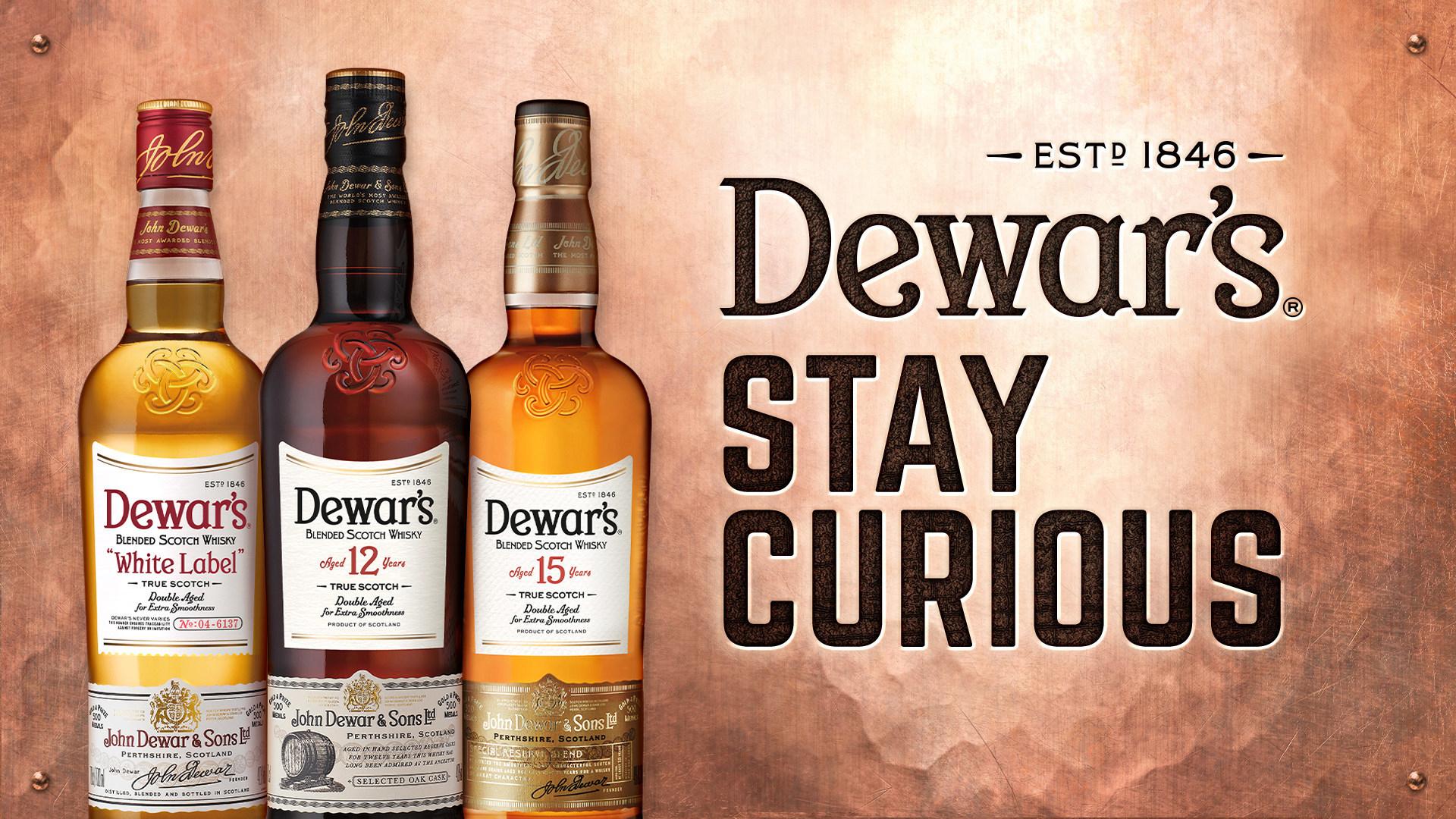 Dewar's Stay Curious