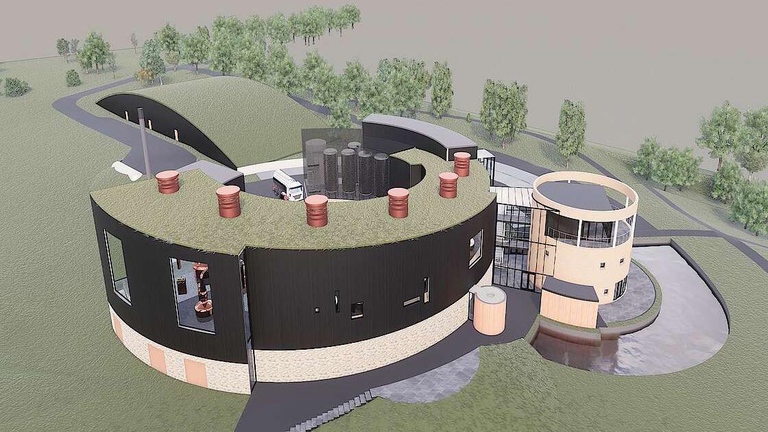 Gordon & MacPhail Dubs New Speyside Distillery The Cairn