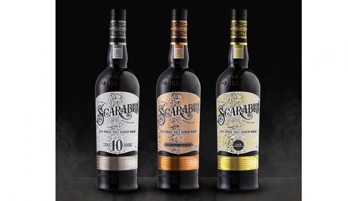 Hunter Laing Expands Scarabus Series With 10 Year Old And Batch Strength Whiskies
