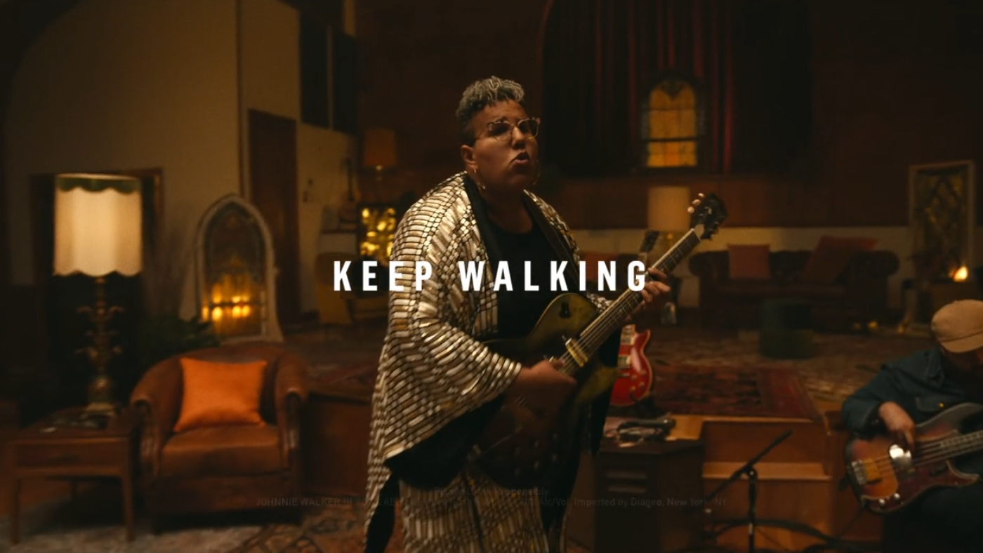 Johnnie Walker Partners With Brittany Howard To Reimagine You'll Never Walk Alone