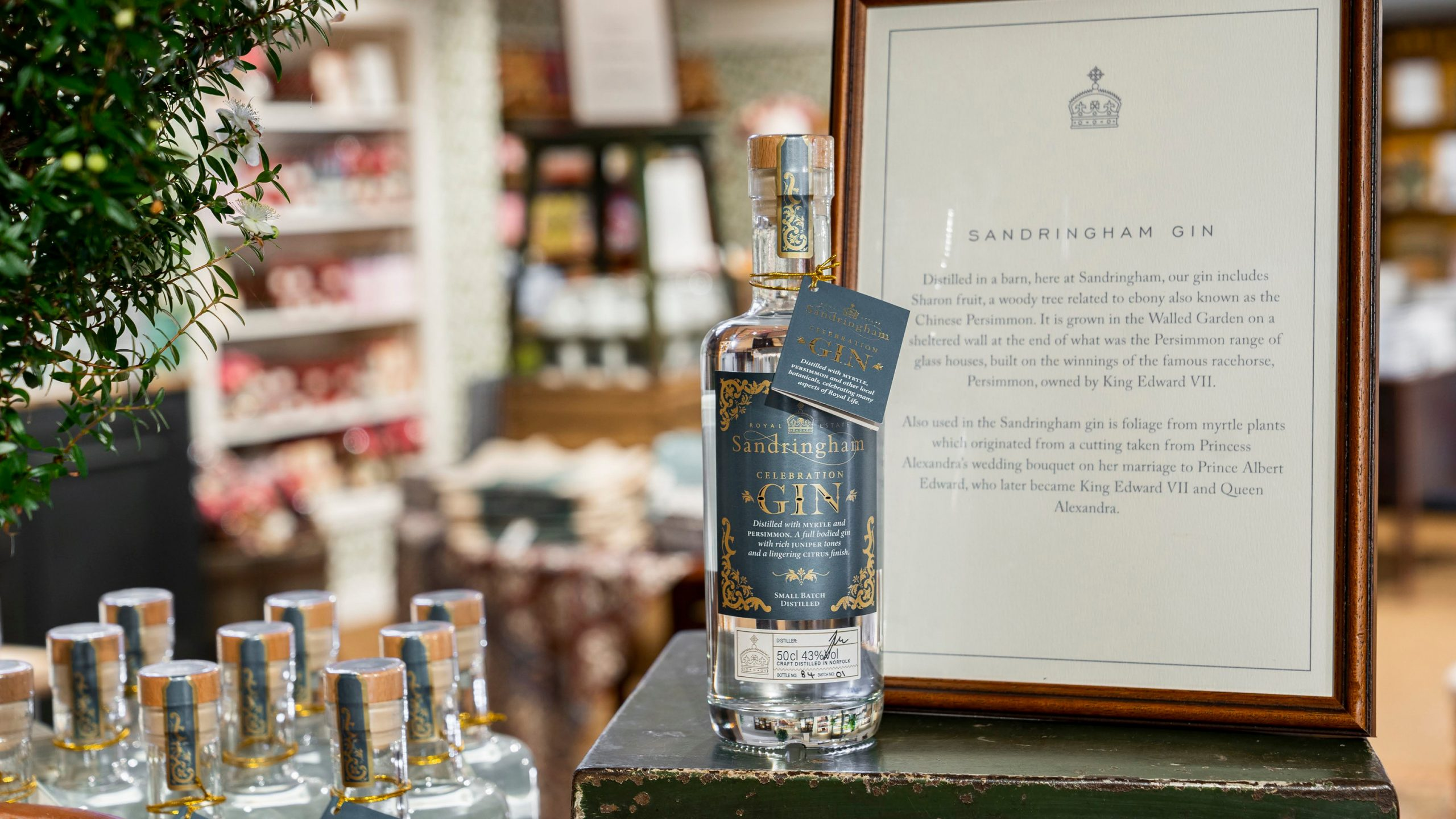 Queen Elizabeth II Sandringham Celebration Gin