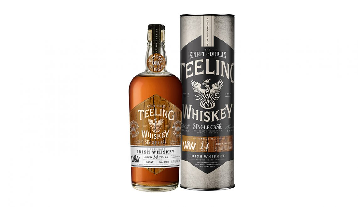 Teeling Launches Wonders of Wood Amburana Cask Whiskey