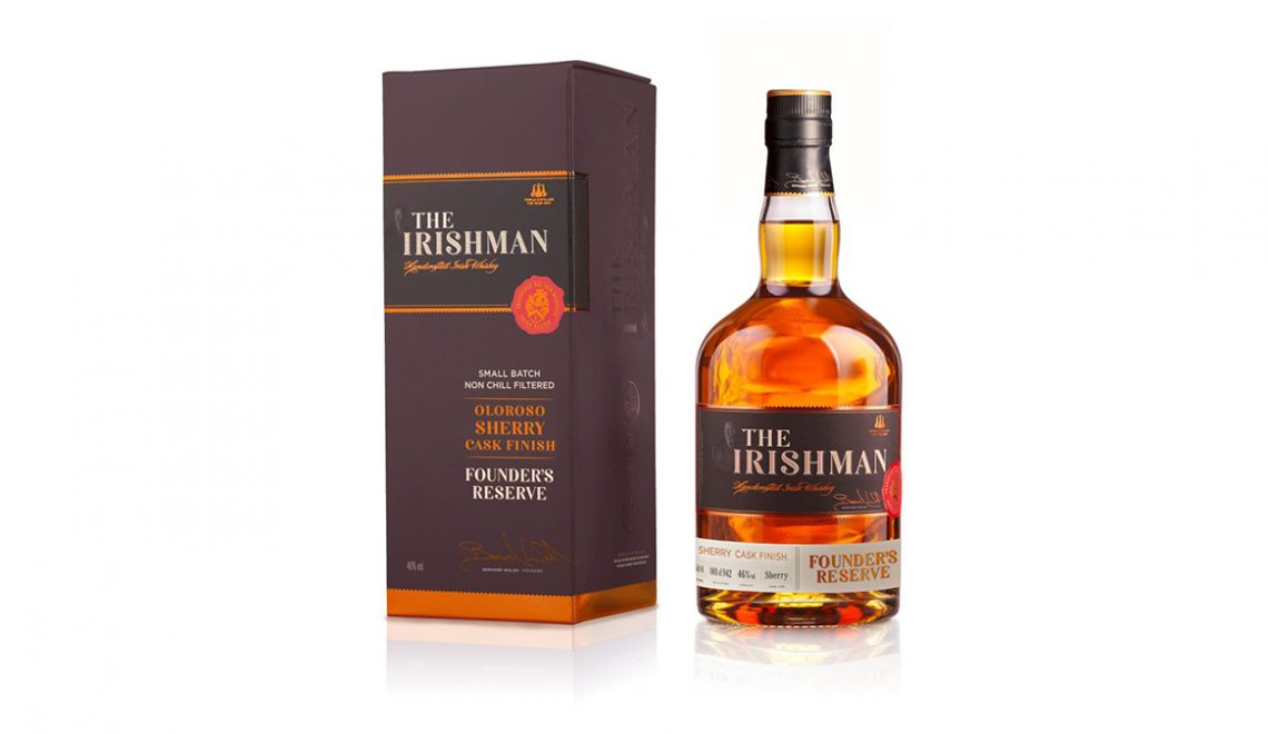The Irishman Unveils Founder's Reserve Oloroso Sherry Cask Finish