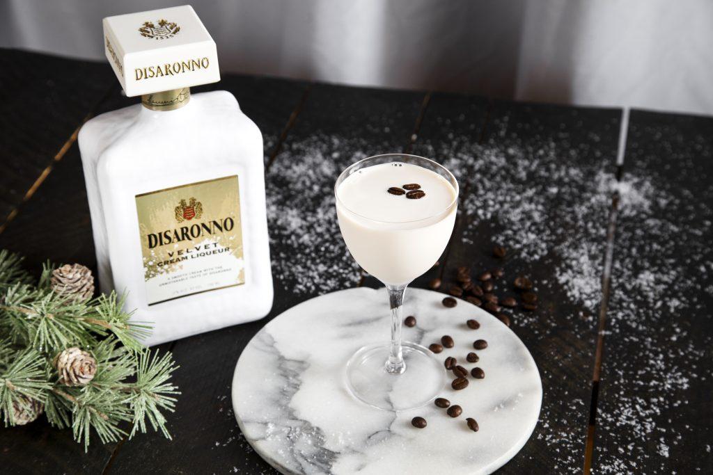 Velvet White Espresso Martini - Thanksgiving cocktail