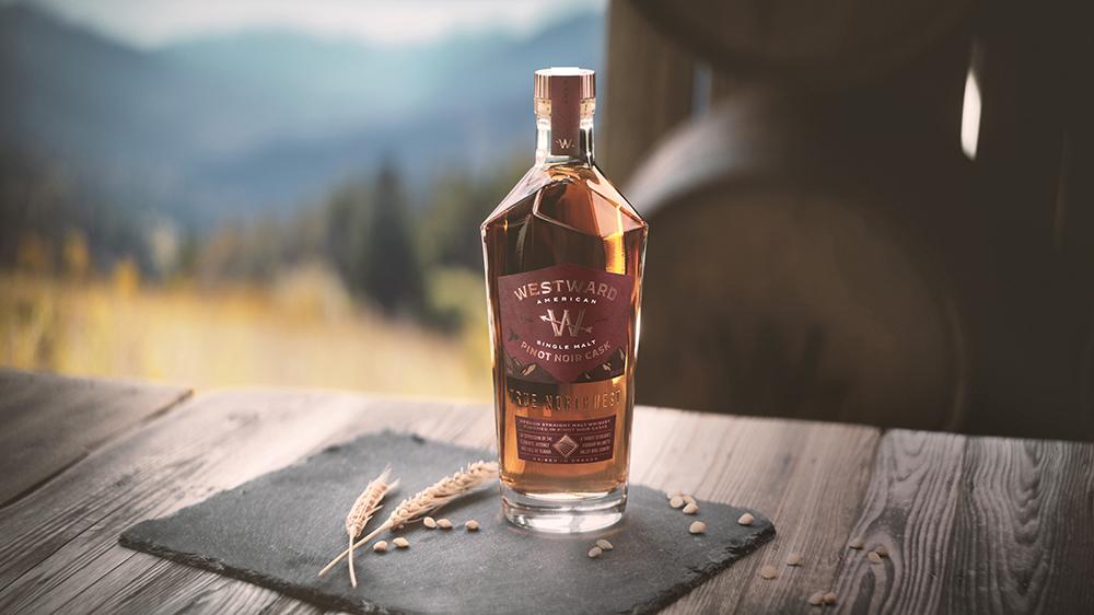 Westward Oregon Pinot Noir Cask Finish Whiskey