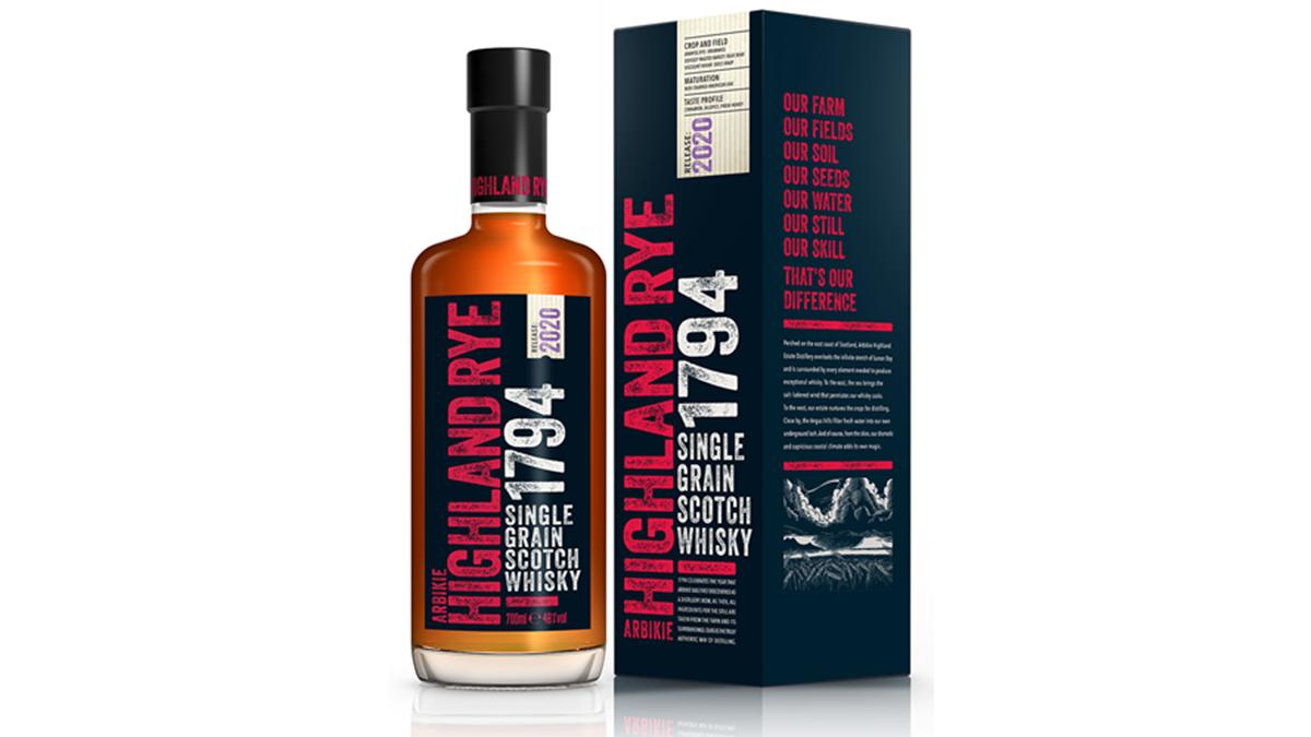 Arbikie 1794 Highland Rye Whisky