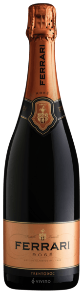 Ferrari Rose NV Sparkling Wines New Year's Eve 2020