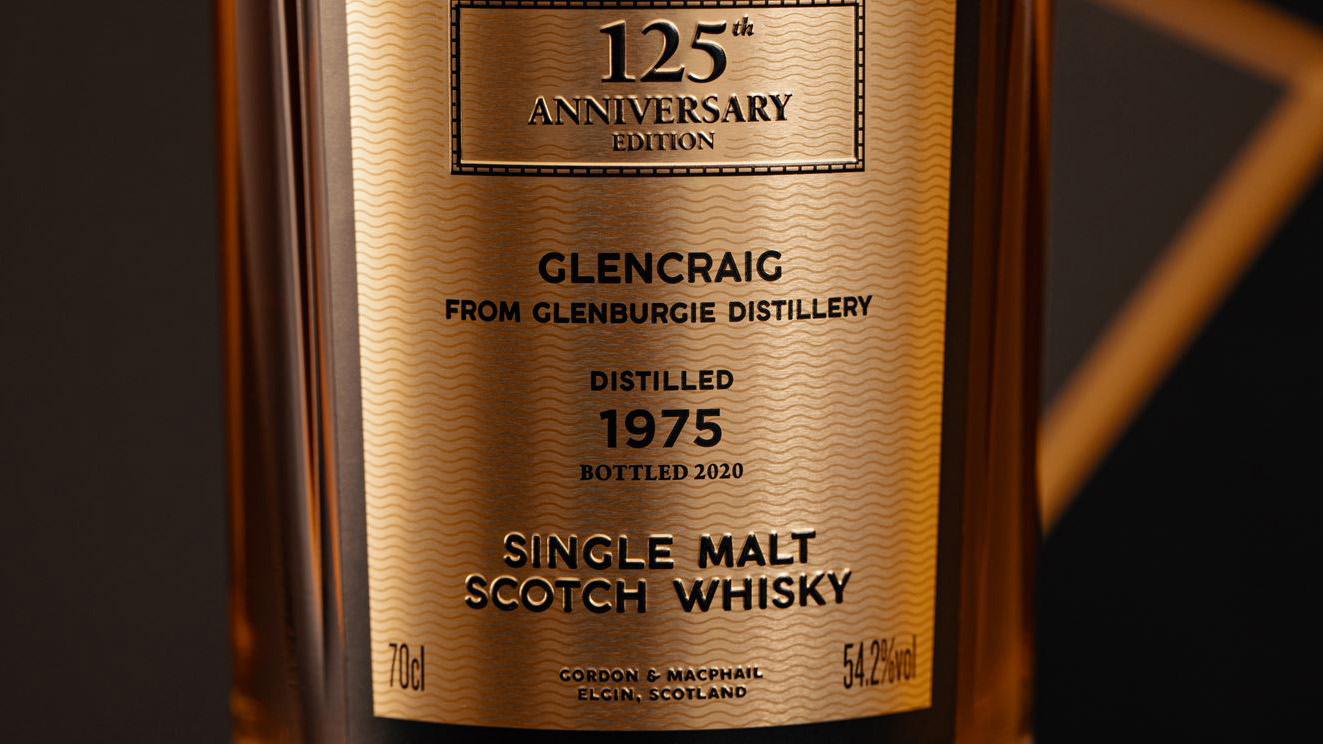 Gordon & Macphail 1975 Glencraig from Glenburgie Distillery fourth final 125th anniversary collection