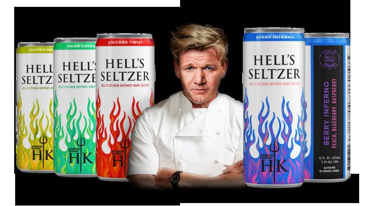 Gordon Ramsay Hell's Hard Seltzer