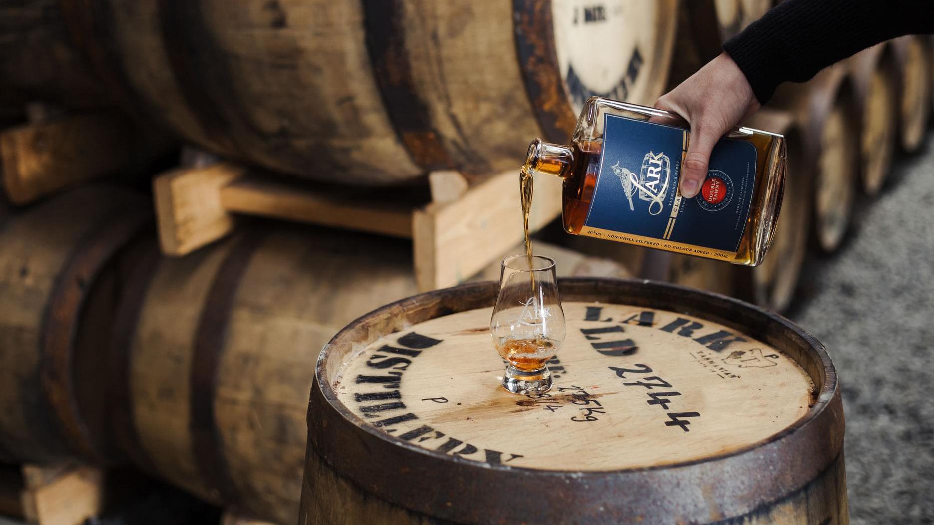 Lark Distillery Double Tawny