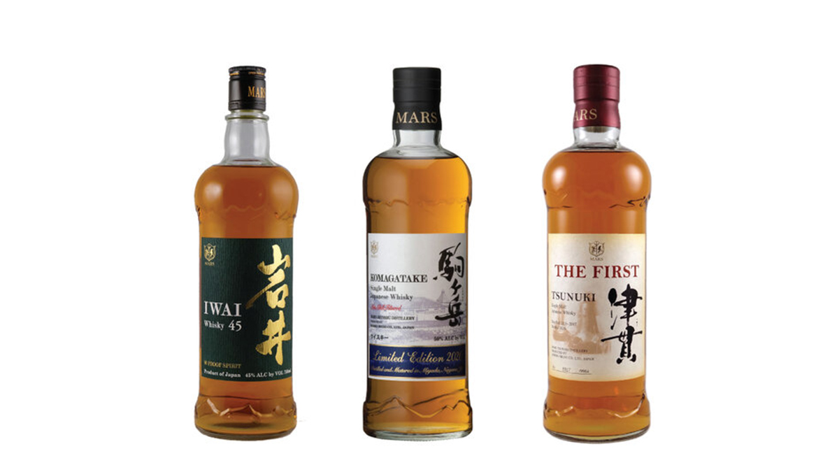 Mars Distillery Launches Trio Of New Japanese Whiskies
