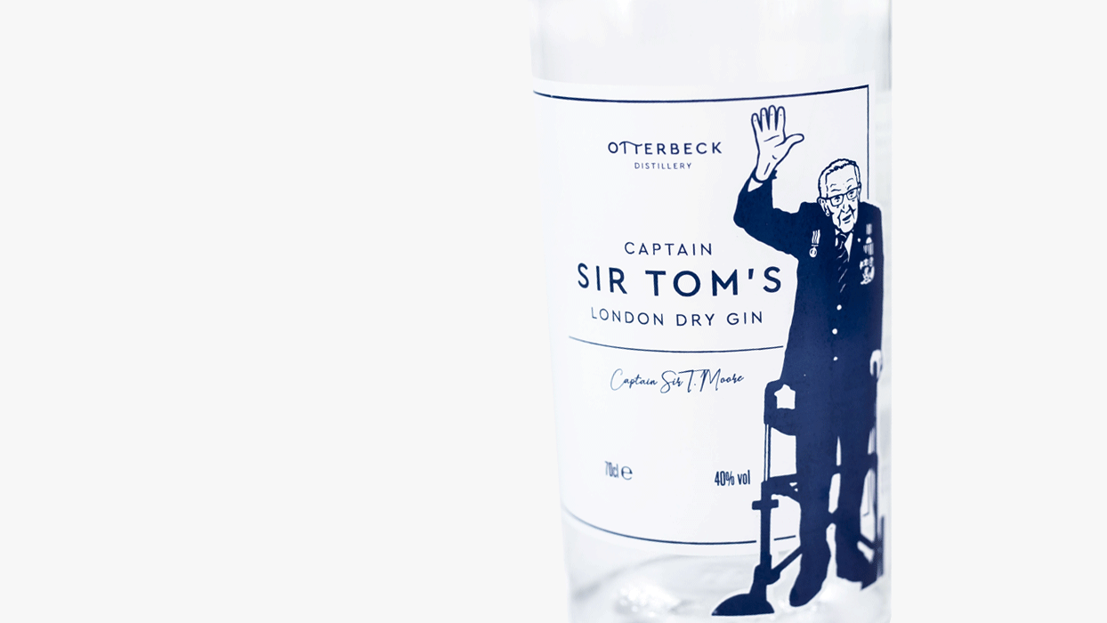 Otterbeck Distillery Captain Sir Tom's Gin