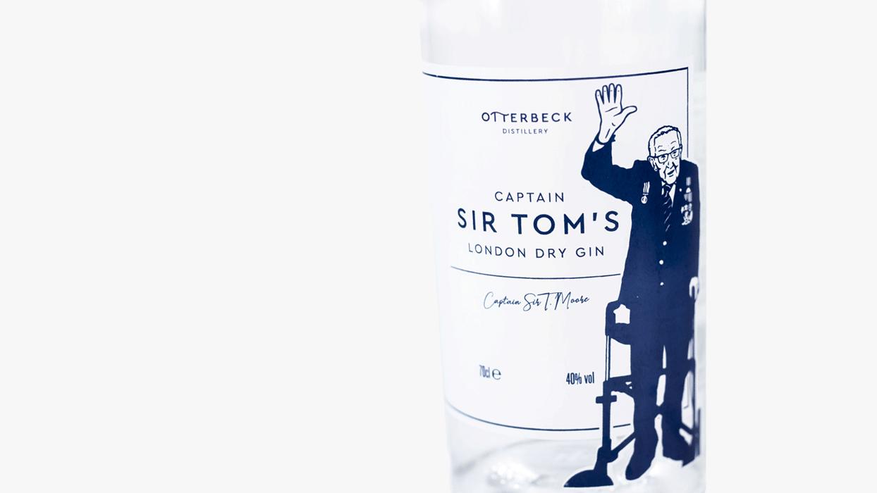 Otterbeck Distillery Captain Sir Tom's Gin
