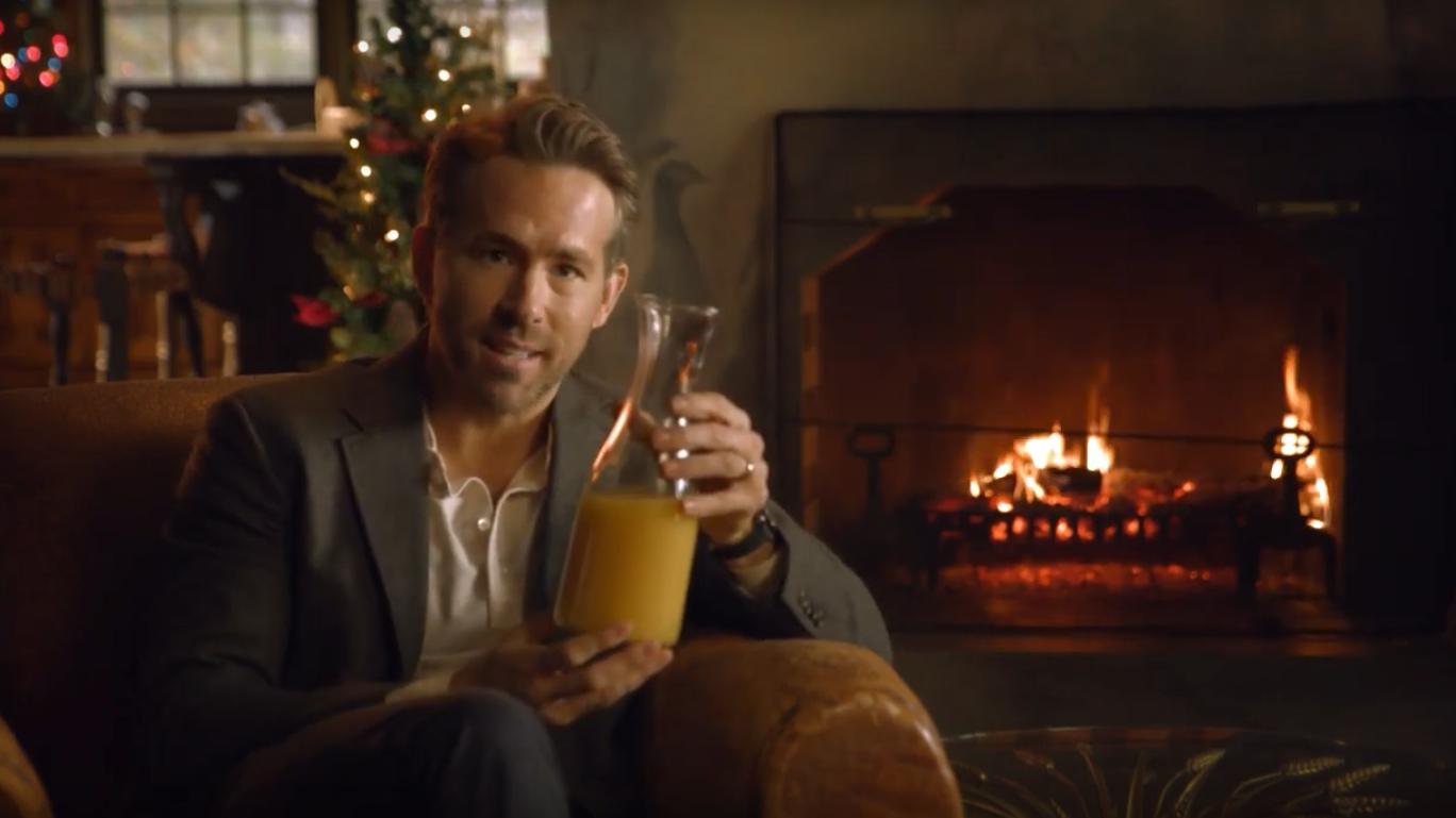 Ryan Reynolds Aviation Juice Not A Gin Ad