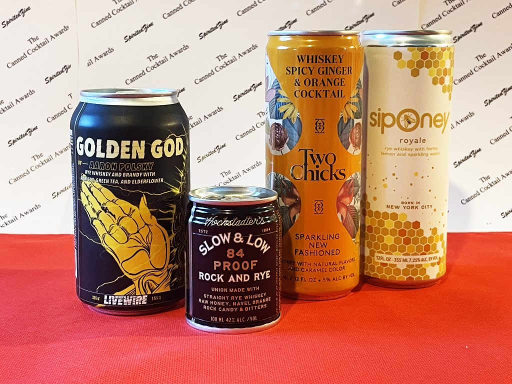 SpiritedZine Canned Cockail Awards 2020 Best Whiskey