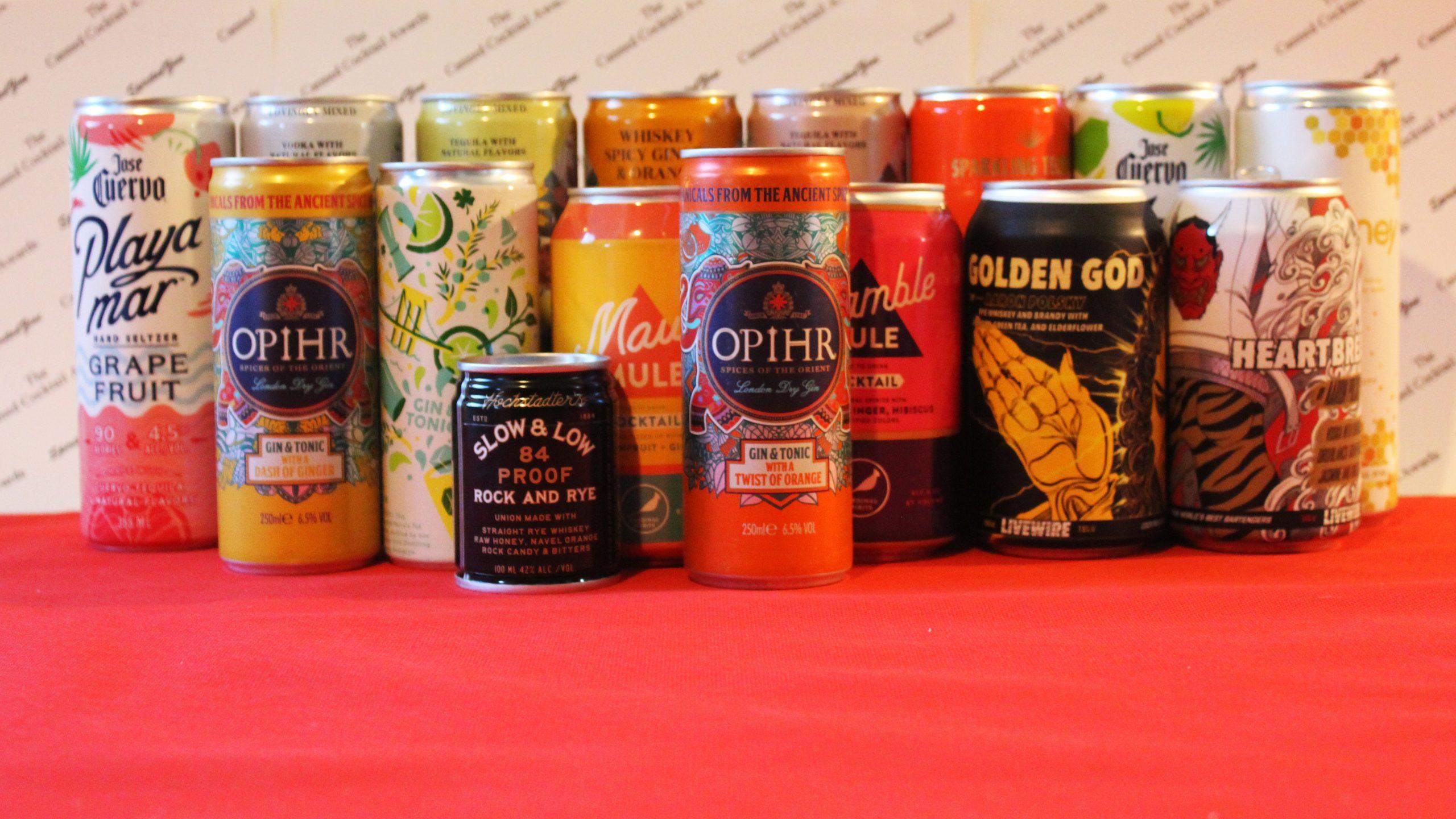 SpiritedZine Canned Cocktails Awards 2020