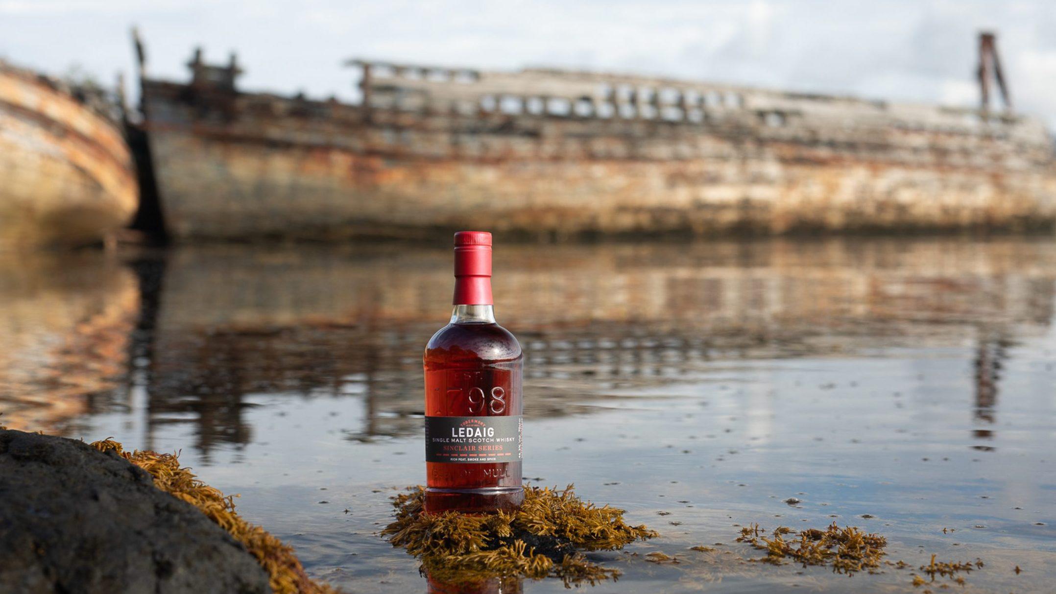 Tobermory Debuts Ledaig Rioja Cask Finish And Mountain Gin